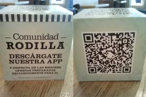 Campaña de QR en Rodilla